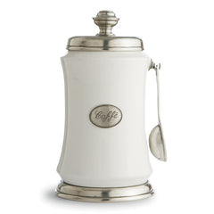 Arte Italica Tuscan Coffee Canister with Spoon