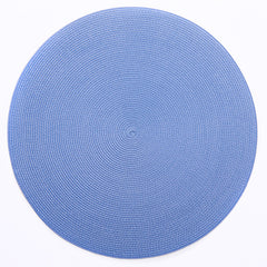 "Deborah Rhodes Blue Round 15"" Colony Placemat (Set of 6)"