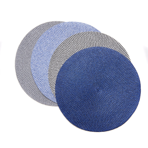 Deborah Rhodes Cool Colored Basketweave Placemats (set of 6)