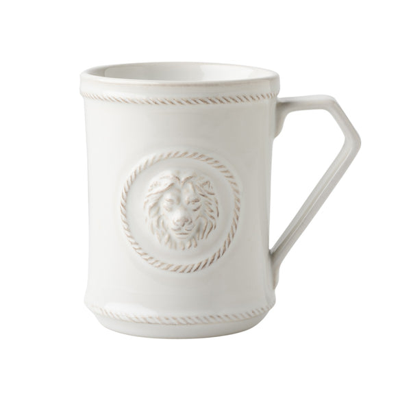 Juliska Berry and Thread Whitewash Cupfull of Courage Mug