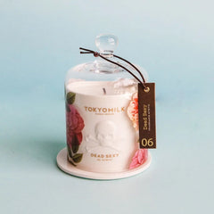 TOKYOMILK Dead Sexy Mystic Pink Ceramic Candle with Cloche