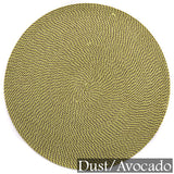 Deborah Rhodes Neutral Basketweave Placemats (set of 6)