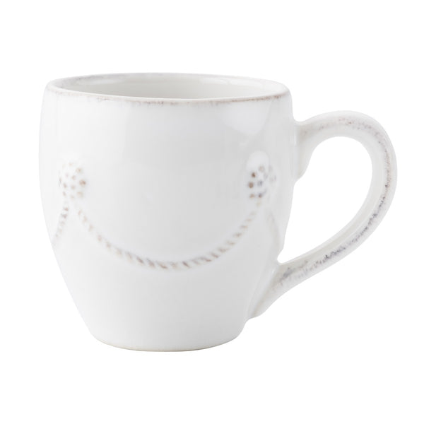 Juliska Demitasse Cup White 2.5H x 2.5W 3oz