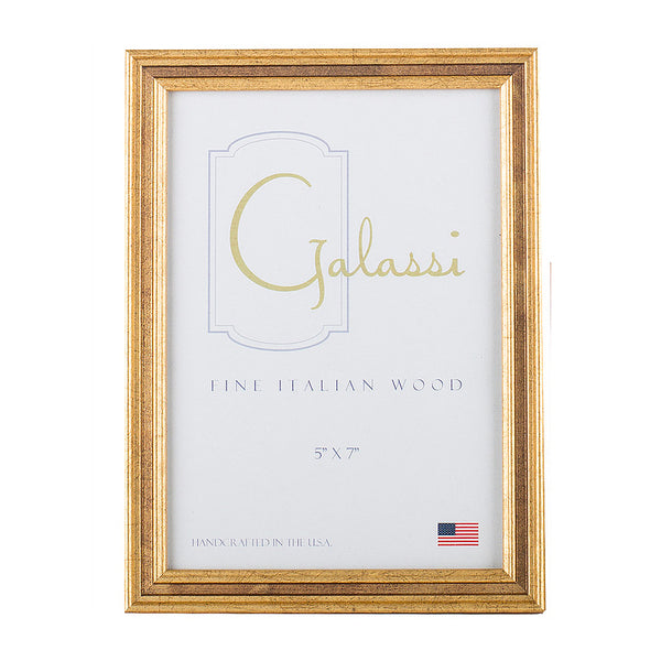 Galassi Channel Gold - 5x7 Frame