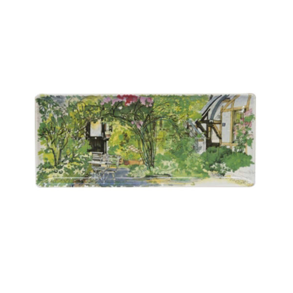 Gien Paris a Giverny Oblong Serving Tray
