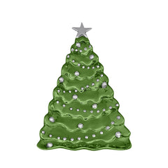 Mariposa Green Christmas Tree Server