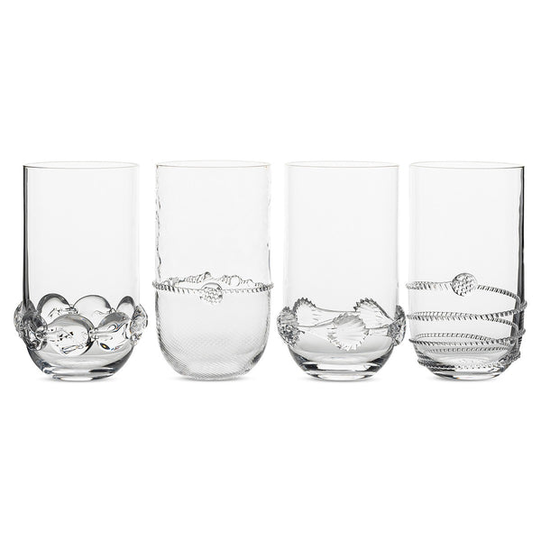 Juliska Heritage Collectors Set of 4 Large Highballs