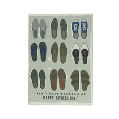 """Follow in Your Footsteps"" Father's Day Card"