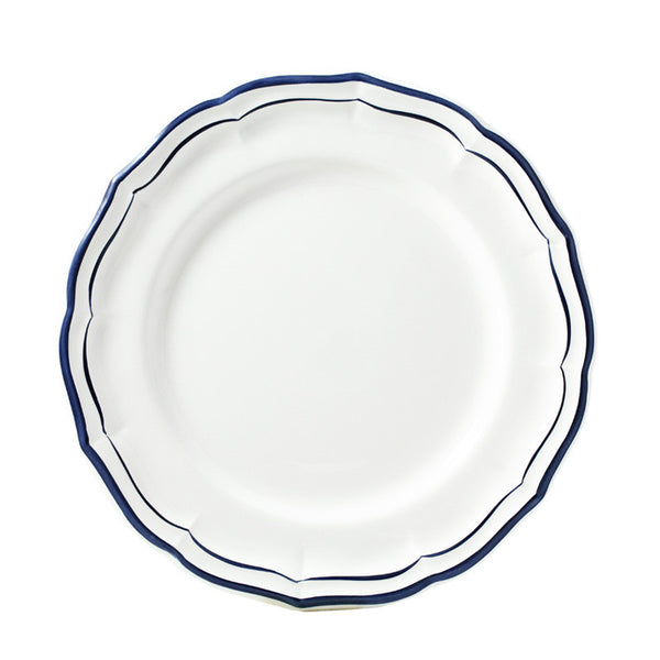 Gien Filet Indigo Dinner Plate
