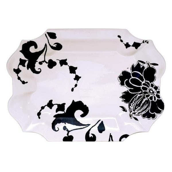 Gien Indigo Serving Platter
