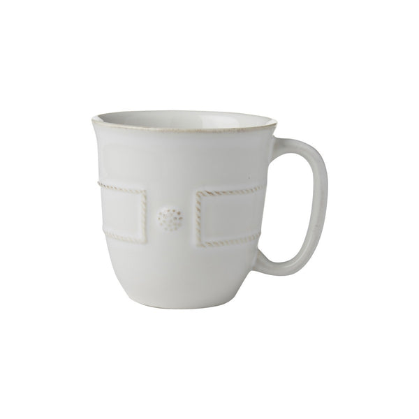 Juliska Berry & Thread French Panel Whitewash Coffee/Tea Cup