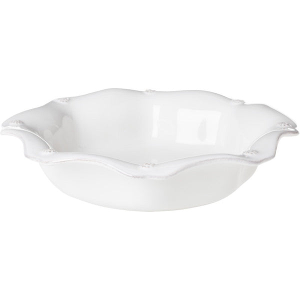 Juliska Berry and Thread Scallop Pasta/Soup Bowl Whitewash