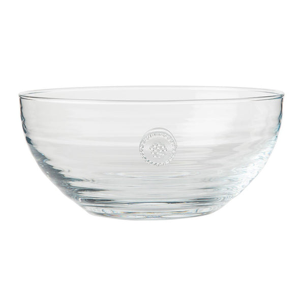 Berry and Thread Medium Glass Bowl