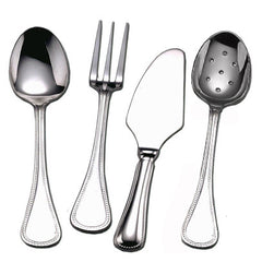 Couzon Le Perle Stainless Steel Four Piece Hostess Set