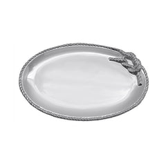 Mariposa Medium Oval Rope Platter