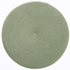 "Deborah Rhodes Moss Round 15"" Placemat (Set of 6)"