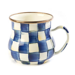 MacKenzie Childs Royal Check Mug
