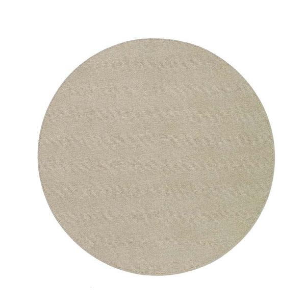 Bodrum Presto Oatmeal Circle Placemat