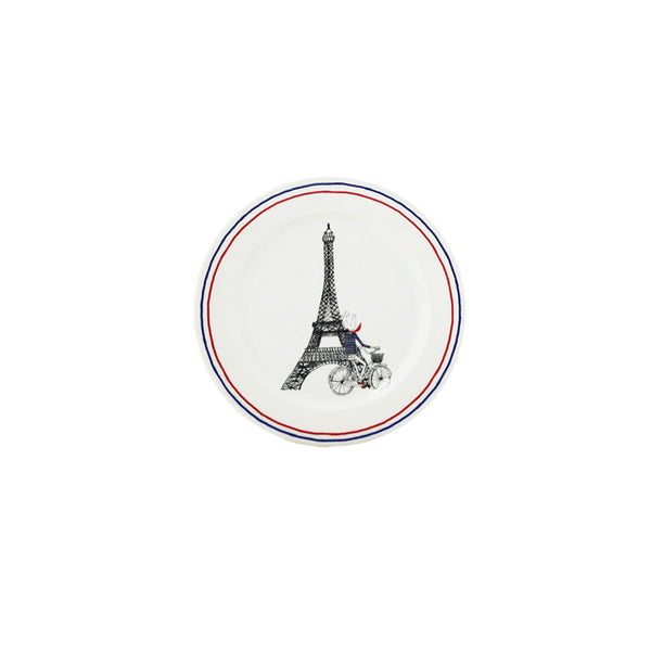 Gien Ca C'est Paris S/2 Bottle Coasters