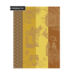 Le Jacquard Francais Miel En Pot Orange Kitchen/ Hand Towel