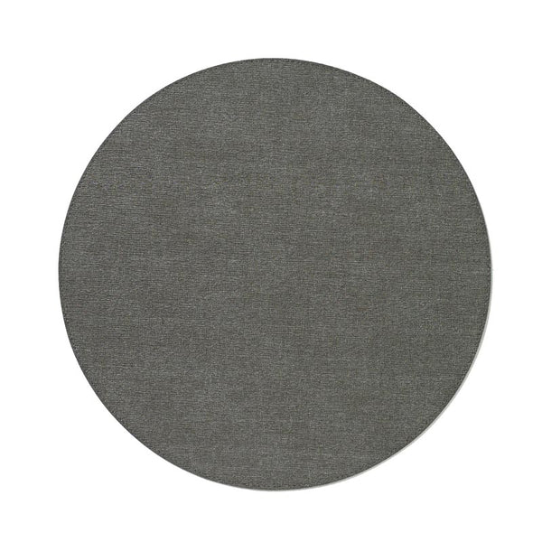 Bodrum Presto Charcoal Round Placemats S/6
