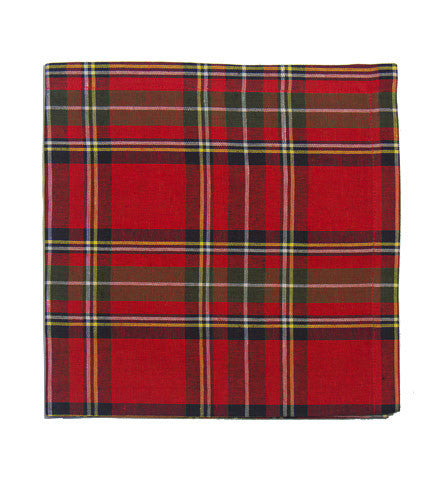 Deborah Rhodes Plaid Runner