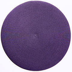 "Deborah Rhodes Prune Round 15"" Placemat (Set of 6)"