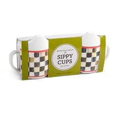Mackenzie Childs Courtly Check Sippy Cups