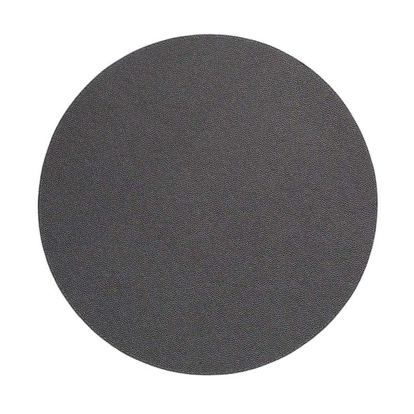 Bodrum Skate Charcoal Round Placemats S/6