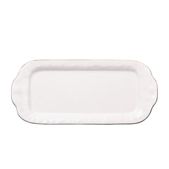 Skyros Cantaria Large White Rectangular Tray