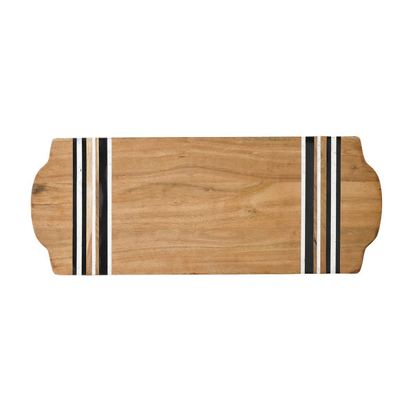Juliska Stonewood Stripe Large Serving Board
