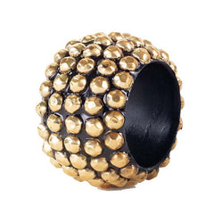 Bodrum Studs Gold Napkin Ring S/4
