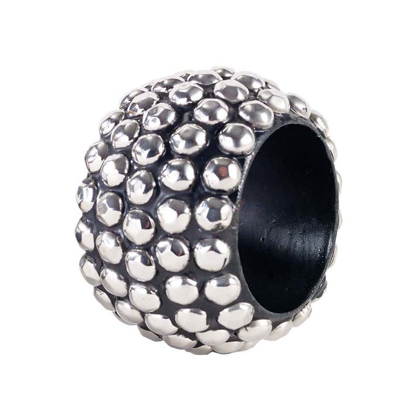 Bodrum Studs Silver Napkin Ring S/4