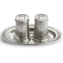 Arte Italica Tavola Small Salt and Pepper Set with Tray