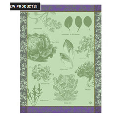 Le Jacquard Francais Salades Illustrees Kitchen/ Hand Towels