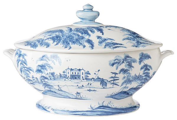 Juliska Country Estate Delft Blue Tureen