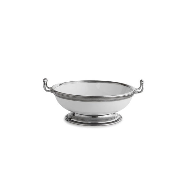 Arte Italica Tuscan Medium Footed Bowl with Handles