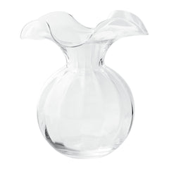 Vietri Hibiscus Glass Clear Medium Vase