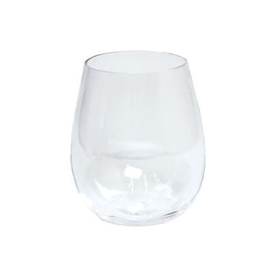 Caspari Acrylic Stemless Wine Glasses