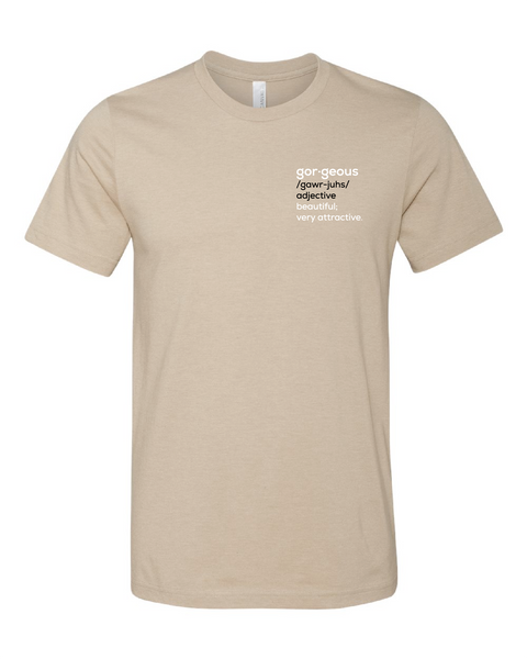Short Sleeve - Heather Tan