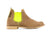 Sand - Fluorescent Yellow Elastic