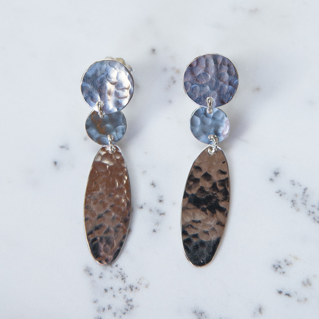 Silver Little Drop Earrings