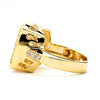 5-Ct Cushion Cut CZ Ring 14-kt Gold Filled