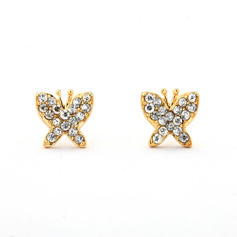 Small Butterfly Earrings 14-kt Gold Filled