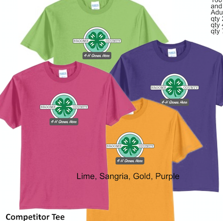 4-H 50/50 Cotton Blend T-shirt