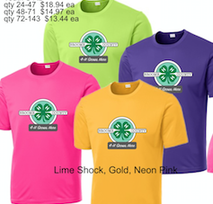 4-H Performance T-shirt