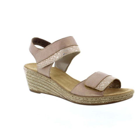 Rieker 62470 Womens Wedge Sandal