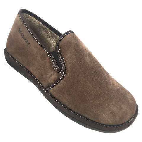 Nordikas 663 Noble Men's Suede Slippers