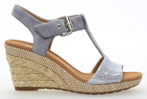 Gabor 82.824 Karen Women's T-Bar Wedge Sandal