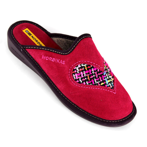 Nordika 8130 Heart - Womens Slippers - Westwoods footwear - 6